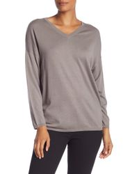 Jarbo - Casual V-neck Sweater - Lyst