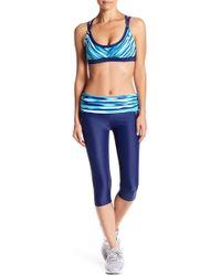 Adidas | Foldover Swim Capri Pants | Lyst