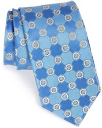 John W. Nordstrom - Perez Floral Medallion Silk Tie - Lyst