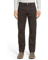 Bugatchi - Mini Check Trousers - Lyst