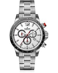 EDOX Watches - Men's Chronorally-s Swiss Quartz Chronograph Sport Watch, 44mm - Lyst