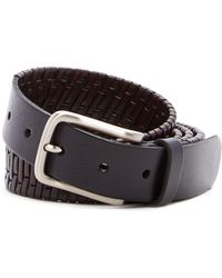 Tommy Bahama - Island Grid Leather Belt - Lyst