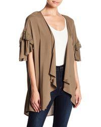 Hiatus - Ruffle Sleeve Kimono - Lyst