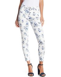 Kensie - Fashion Floral Print Ankle Jeans - Lyst