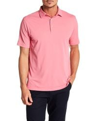Peter Millar - Solid Stretch Mesh Polo - Lyst