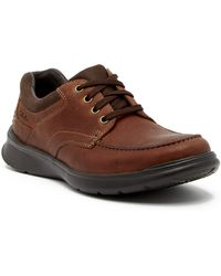 Clarks - Cotrell Edge Leather Sneaker - Lyst