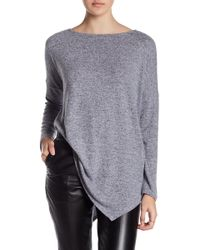 Olivia Moon - Asymmetrical Drop Shoulder Tunic - Lyst