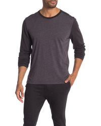 Agave - Shoaling Long Sleeve Contrast T-shirt - Lyst