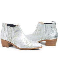 Modern Vice - Handler Leather Bootie - Lyst