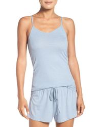 Barefoot Dreams Luxe Ribbed Jersey Camisole