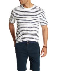 Threads For Thought - River Striped Organic Cotton Crew Neck Tee - Lyst