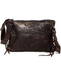 Frye - Samantha Studded Leather Crossbody Bag - Lyst