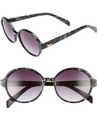 Draper James - 53mm Round Gradient Sunglasses - Lyst