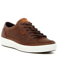 Ecco - Soft 7 Leather Sneaker - Lyst
