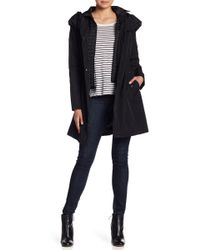 Laundry by Shelli Segal - Hooded Coat - Lyst