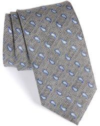 David Donahue - Paisley Silk Tie - Lyst