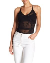 Honey Punch - Embroidered Lace Bodysuit - Lyst