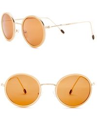 William Rast - Men's 50mm Round Sunglasses - Lyst