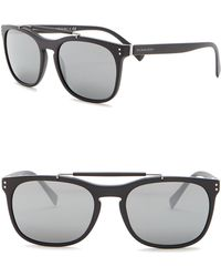 080b3139c0116 Burberry - Tailoring The Mr. 56mm Square Browbar Sunglasses - Lyst