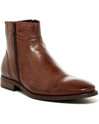 Bacco Bucci - Side Zip Mid Boot - Lyst