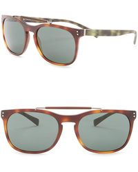 Burberry - Tailoring The Mr. Square 56mm Sunglasses - Lyst