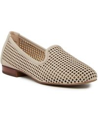 Me Too - Yale Leather Smoking Flat - Wide Width Available - Lyst