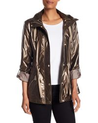 Kenneth Cole - Removable Hooded Jacket - Lyst