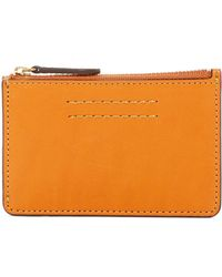 Frye - Harness Id Leather Card Case - Lyst