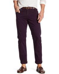 Bugatchi - Slim Fit 5 Pocket Pant - Lyst
