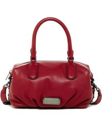Marc Jacobs - New Q Small Legend Leather Satchel - Lyst