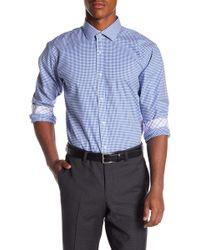 Bristol & Bull - Patterned Regular Fit Sport Shirt - Lyst