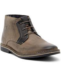 Steve Madden - Herrin Leather Chukka Boot - Lyst