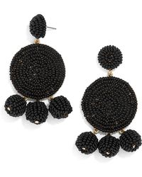 BaubleBar - Maraca Beaded Drop Earrings - Lyst