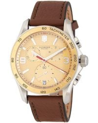 Victorinox | Men's Chrono Classic Chronograph Watch, 40mm | Lyst
