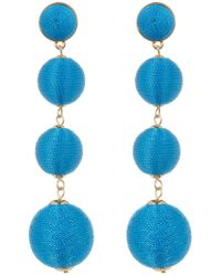 BaubleBar - Criselda Ball Shoulder Duster Earrings - Lyst