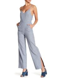 Lucky Brand - Easy Stripe Jumpsuit - Lyst