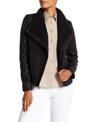 T Tahari - Andreas Leather Jacket - Lyst