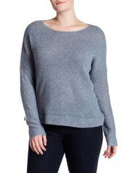 NAKEDCASHMERE - Katya Boatneck Cropped Cashmere Sweater (plus Size) - Lyst