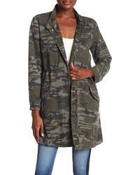 Etienne Marcel - Long Line Camo Jacket - Lyst