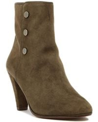 Tahari | Christy Studded Suede Bootie | Lyst