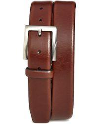 Trafalgar - 'rafferty' Leather Belt - Lyst