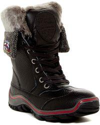 Pajar - Alice Waterproof Faux Fur Lined Boot - Lyst