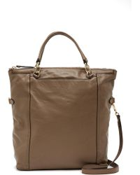 Vince Camuto - Patch Leather Shoulder Bag Tote - Lyst