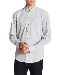 W.r.k. - Snow Crystal Reworked Long Sleeve Shirt - Lyst