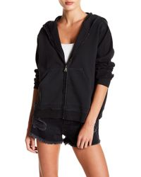 Sincerely Jules - Austin Front Zip Hoodie - Lyst
