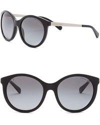 Michael Kors - Women's Island Tropics 55mm Round Sunglasses - Lyst