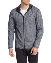 78f1606f TOPMAN Textured Classic Fit Hoodie in Natural for Men - Lyst