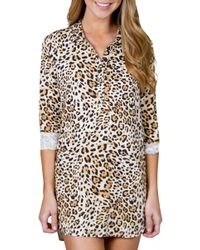 Pj Salvage - Leo Nights Nightshirt - Lyst