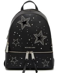 Michael Kors - Studded Leather Backpack - Lyst