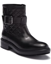 Aquatalia - Launa Quilted Leather Mid Boot - Lyst
